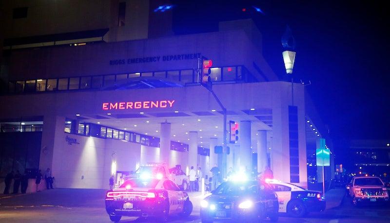 Dallas Police Used a Robotic Bomb to Kill a Suspect Last Night