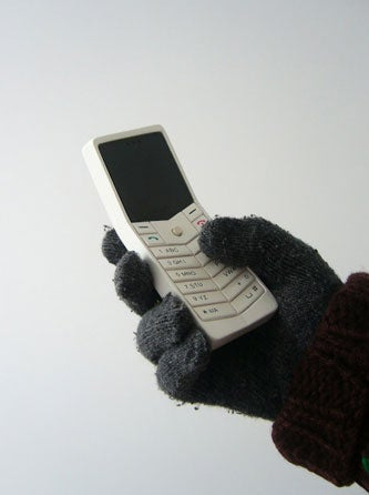 Polar Phone Concept For Winter Gloves and Fat Fingers