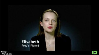 """Elizabeth Moss & Fred Armisen's """"Intervention Intervention"""""""