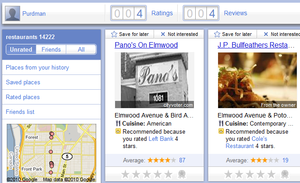 Google Hotpot Bases Its Local Recommendations on Your and Your Friends' Ratings