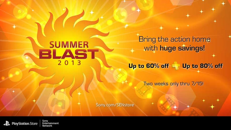 Take Off Those Shades Because Sony's Summer Blast Sale Is Here