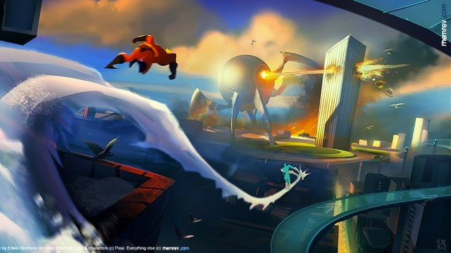 Gorgeous fan-made Incredibles 2 concept art makes us wish this was a real movie