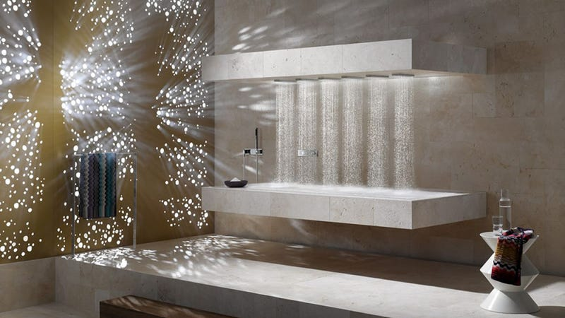 This Horizontal Shower Is Dope as Hell and You Need It Immediately