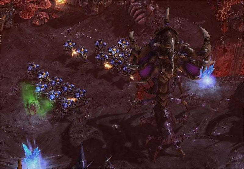 Meet StarCraft II's Brutalisk