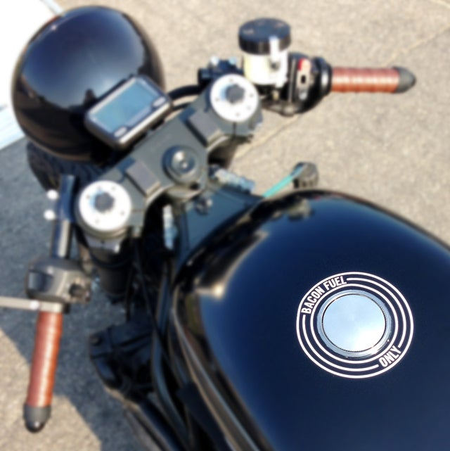 ​This Turbo Diesel Cafe Racer Is Powered By Bacon