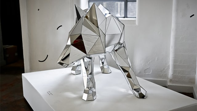 Giant Polygon Animals Come to Life (It's OK, They Won't Eat Your Face)