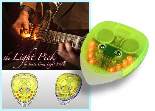 Guitar Afire: Light Pick