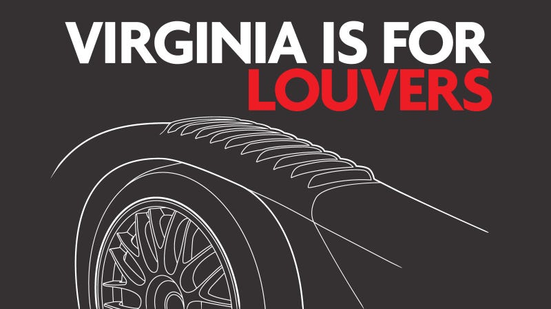 Virginia is for louvers