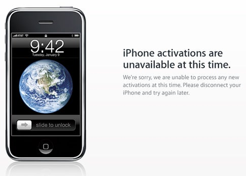 Apple Giving $30 iTunes Credit For iPhone 3GS Activation Snafu