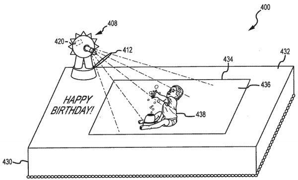 Disney Patents Interactive Cakes