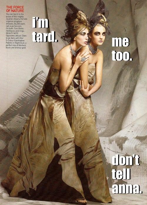 LOLVogue: Tard Moddles & Bahlinceeyagga