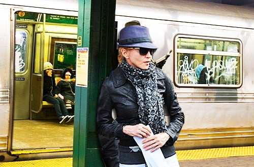Shocker: Madonna Actually Rode the Subway Yesterday