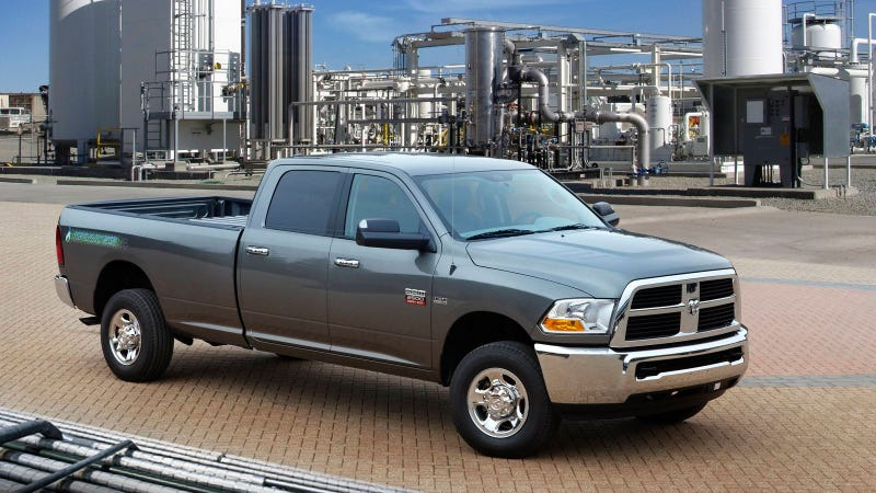 Ram 2500 CNG Pickup: The Jolly Green Giant