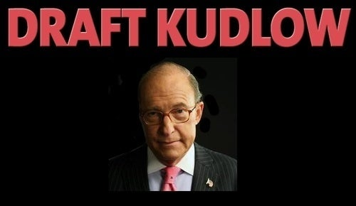 Larry Kudlow Loves CNBC, Might Not Love Running Against Popular Incumbent Senators