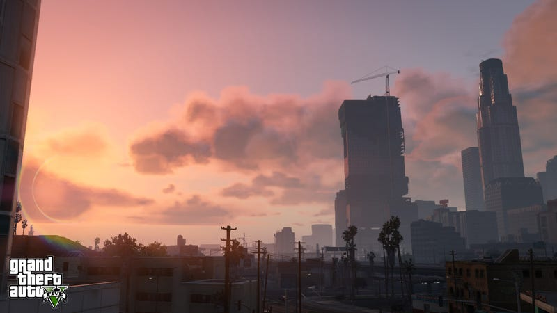 New GTA V Screens Show Off Sunsets, Scuba Diving and Stormy Skies