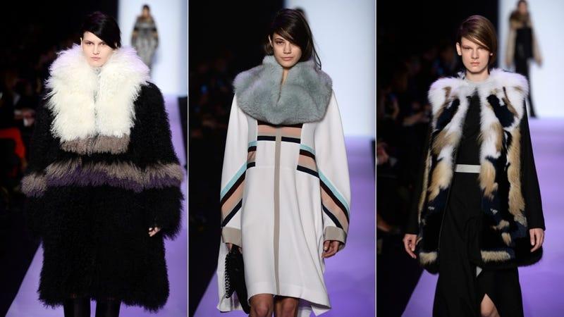 BCBG Max Azria: For the Elegant, Modern Yeti Queen in You