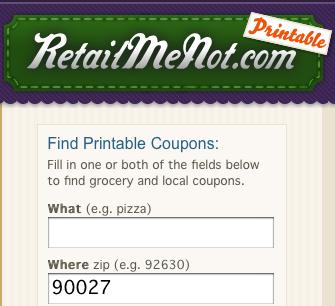 RetailMeNot Adds Printable Coupons for Offline Savings