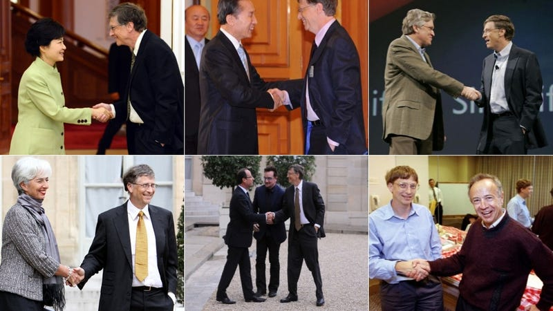 How a Bill Gates Handshake Caused Controversy in South Korea