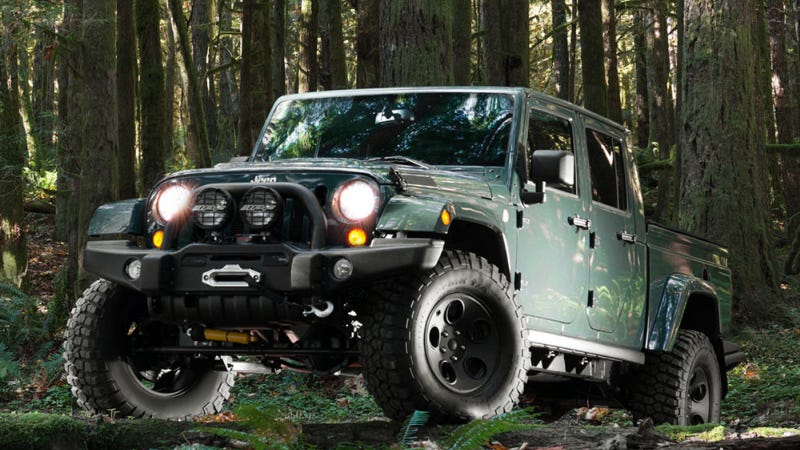 AEV Brute Double-Cab Wrangler Pickup Gets Land Rover-Level Luxury