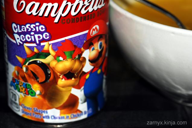 Campbells Mario Chicken Noodle Soup: A SnackTAYku Review (?)