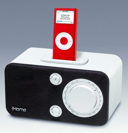 iHome's Table Radio Gives Your iPod a Retro Look