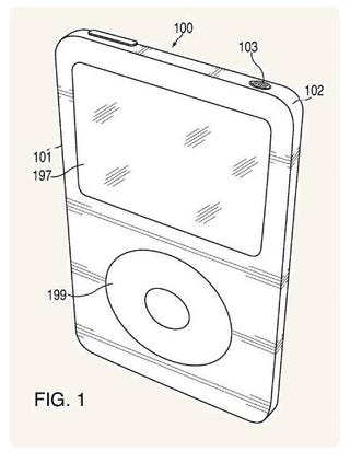 Apple Patent Implies iPod to Get a Unibody