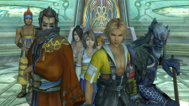 Final Fantasy X Looks Beautiful in HD, X-2 Looks... Good