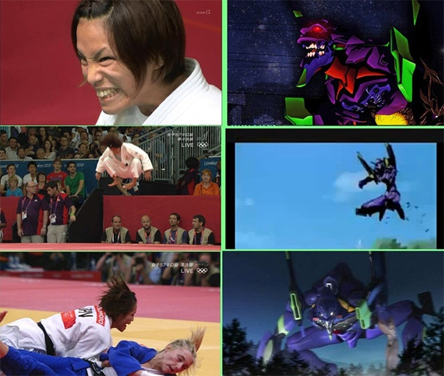 How a Judo Olympian Spawned an Anime Meme