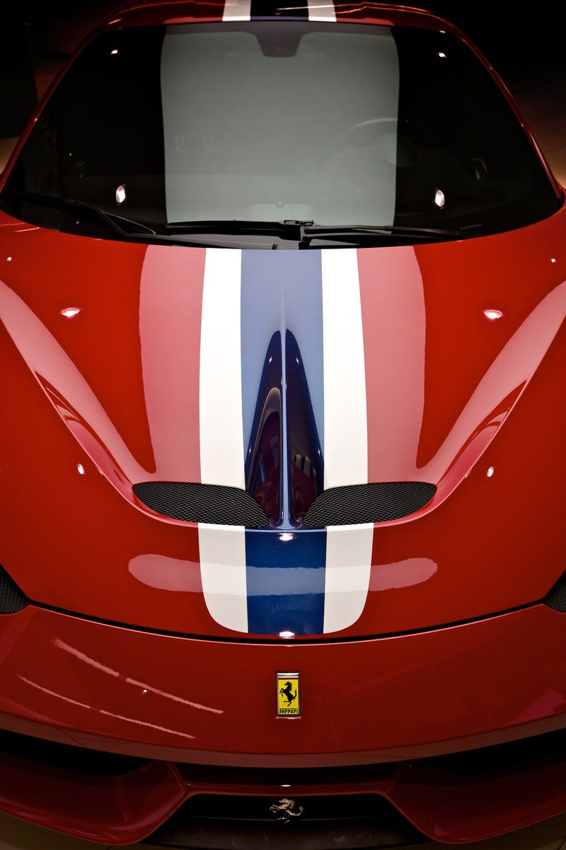 This Is Part Of What Makes The Ferrari 458 Speciale So Speciale
