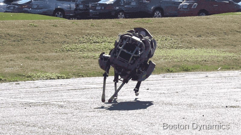 The Pentagon's Super-Fast Robot Now Runs on Its Own