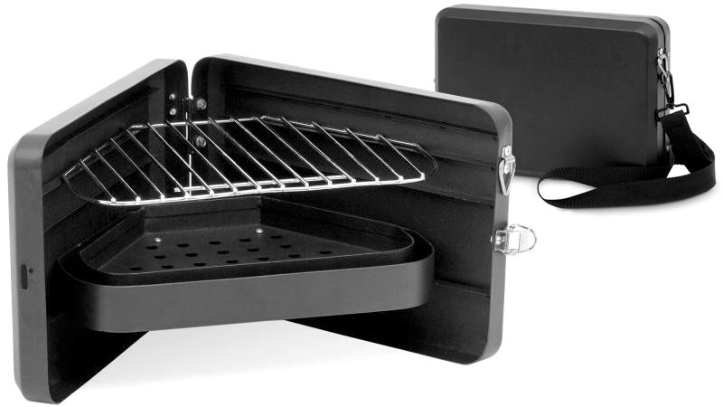 Stylish Briefcase BBQ Turns Meetings Into a Cookout