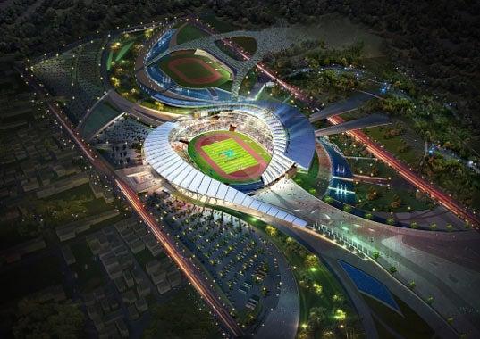A True Foreign Beauty: The Winning 2014 Asian Games Stadium Design
