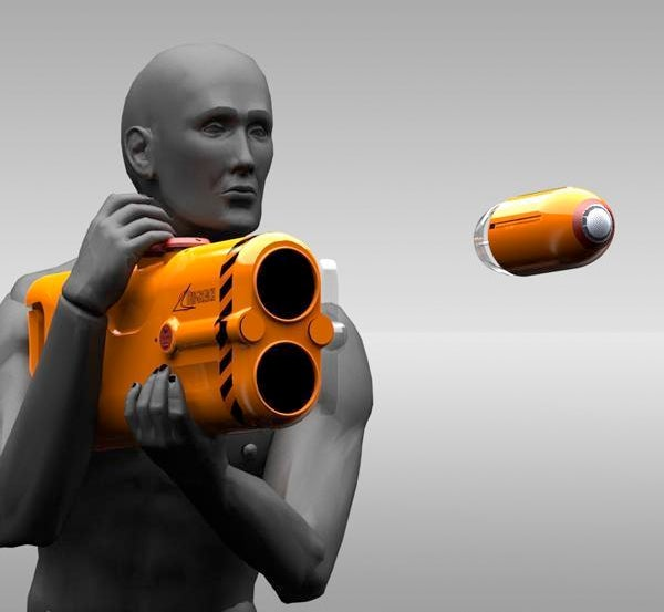 A Bazooka That Can Save Lives Wins the Dyson Award