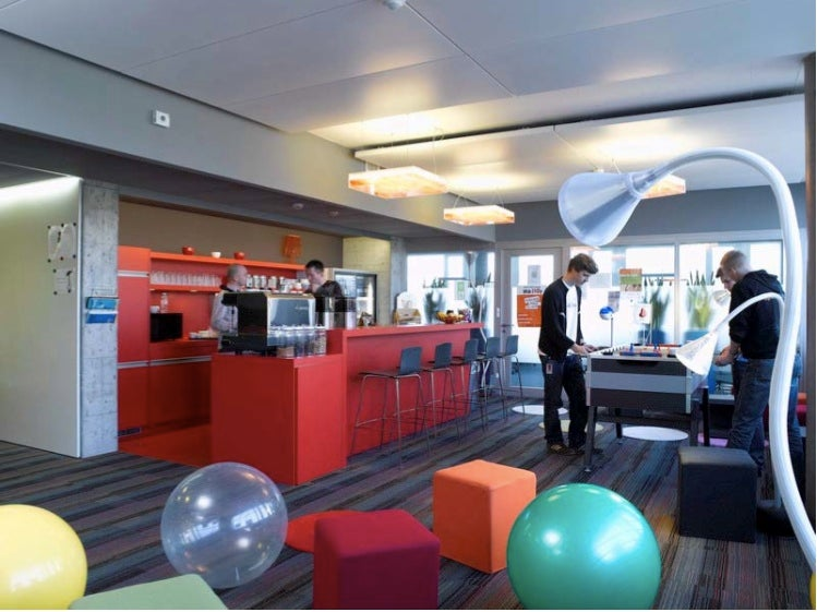 Google's Zurich HQ: Office Fun For Everyone... Who Works There, Anyway