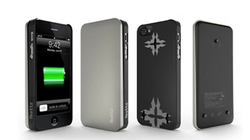 iBattz's Inconspicuous iPhone 5 Case Gives You an Extra Clip-On Battery