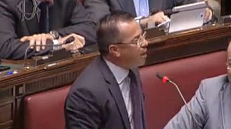 Italian MP Wore Blackface in Parliament to Make Terrible, Racist Point