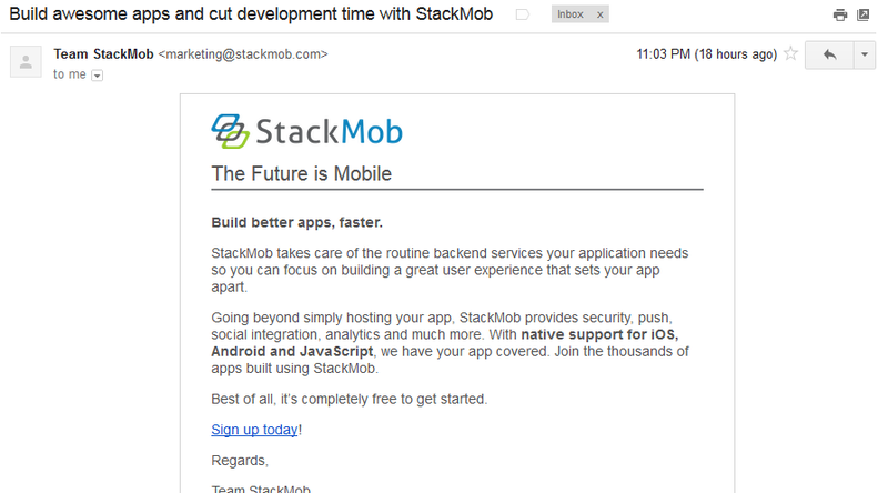 Everyone Knows PayPal Is Closing StackMob, Except StackMob Marketing