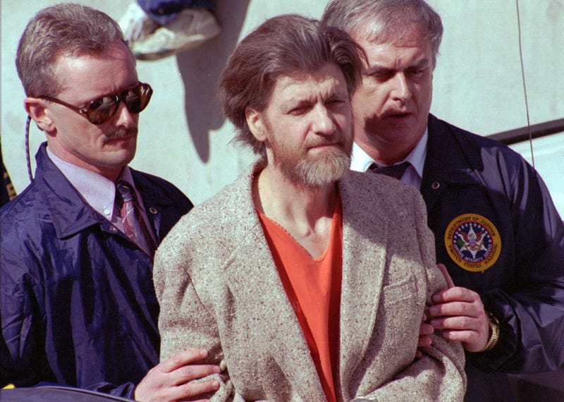 Unabomber Sorry He Can't Make Harvard Class Reunion But He's Still In Prison
