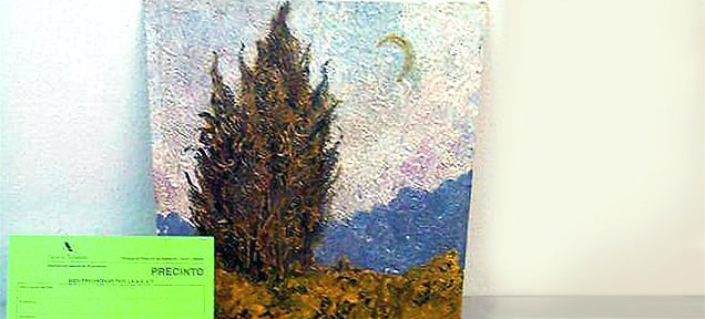 Police finds priceless Van Gogh taken by Nazis hidden in bank vault