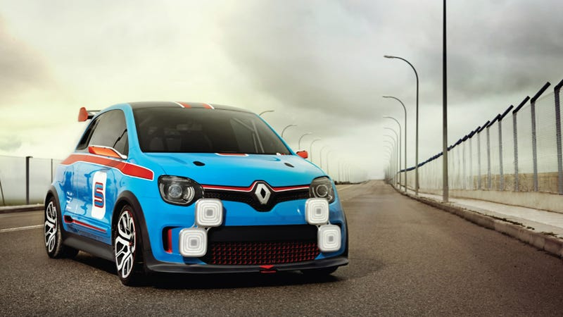 The Rear-Engined Renault Twin'Run Hatch Is The Rebirth Of A Legend