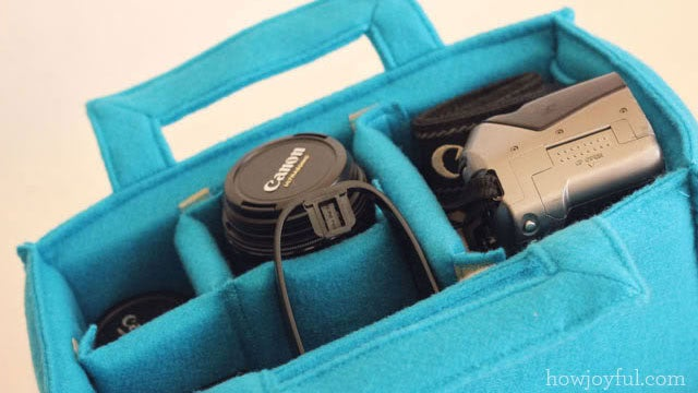 DIY Custom Camera Carrier Insert
