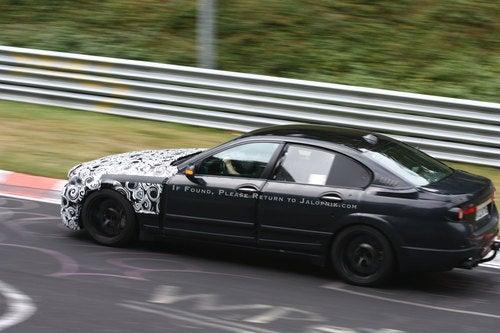 2011 BMW M5: Spy Photos
