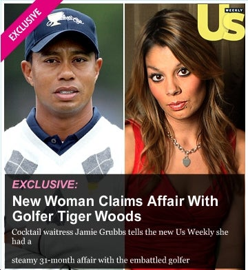Rumor: Us Weekly Pays Big For Tiger Woods Girl #2