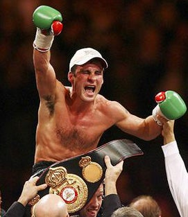 The Continuing Reign of Joe Calzaghe.