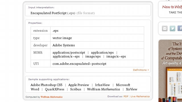 Find Out How to Open That File Type with Wolfram Alpha