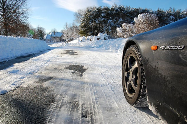 The Snowpocalypse As Seen From A Honda S2000: All-Wheel Drive Is For Pansies
