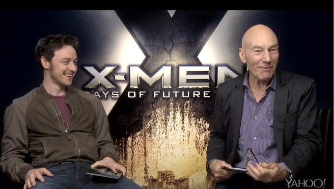 James McAvoy Does His Patrick Stewart Impression for Patrick Stewart