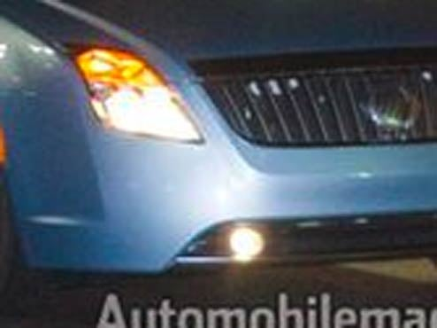 2010 Mercury Milan Hybrid Caught Completely, Embarassingly Naked