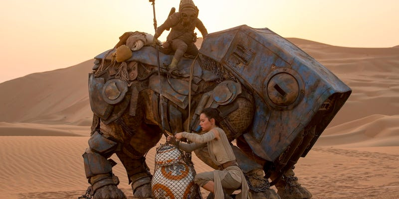 Новости Звездных Войн (Star Wars news): New The Force Awakens Feature Teases Out Rey's Background