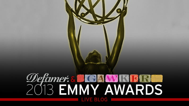 Gawker & Defamer Live Blog The 2013 Emmys